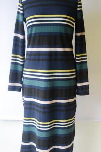 Sukienka Paski Long Maxi H&M Divided 44 XXL Paseczki...