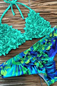 Modny piękny strój kąpielowy rozmiar S Bikini