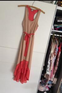 Asymetryczna sukienka maxi S...