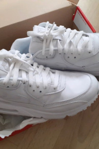 Nowe Nike Air Max 90 Leather White...
