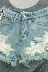 Jeansowe spodenki rozmiar XS 34...