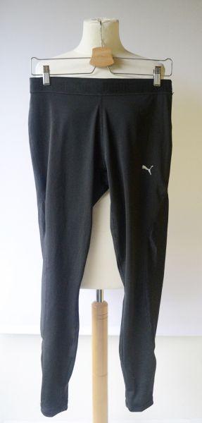 Legginsy Legginsy Spodnie Puma Czarne Sportowe XL 42 Fitness