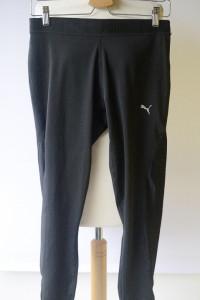 Legginsy Spodnie Puma Czarne Sportowe XL 42 Fitness...