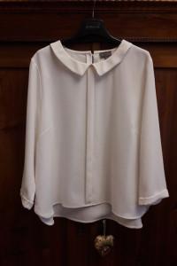 Biał eleganka bluzka 44 46 48