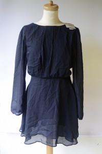 Sukienka NOWA Granatowa Asos XL 42 Elegancka Midi...