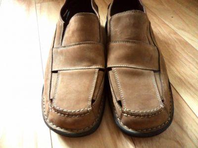 Obuwie AEROSOLES OKAZJA śliczne buty męskie skóra
