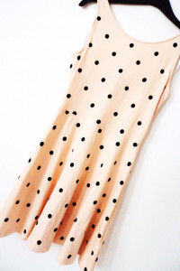 H&M DIVIDED urocza sukienka grochy...