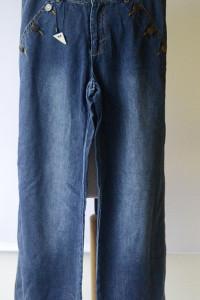 Spodnie Jeansowe 27 32 M 38 NOWE Proste Nogawki Simply Loving...