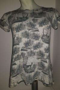 Koszulka z jelonkiem Selected femme jeans M