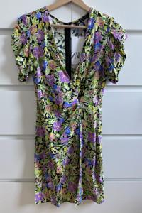 ZARA letnia sukienka w kwiaty XS...