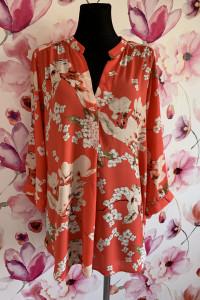 wallis bluzka luzny fason modny wzór kwiaty 44 46...