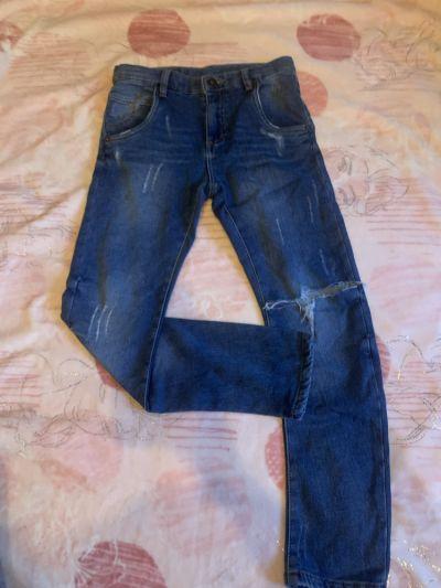 Spodnie i spodenki Jeansy chłopięce