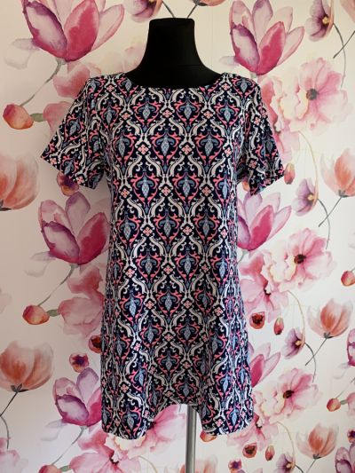 Suknie i sukienki Cameo rose sukienka tunika modny wzór ornament 40