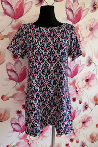 Cameo rose sukienka tunika modny wzór ornament 40