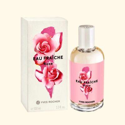 Perfumy Yves Rocher Rose Eau Fraiche 100 ml