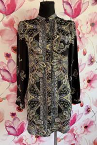 Missguided sukienka koszulowa modny wzór ornament 36...