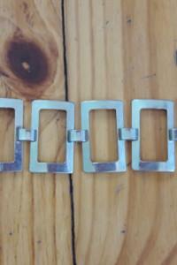 Metalowa bransoletka