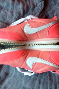 nike oceania różowe pomarańczowe adidasy 37 sportowe buty...