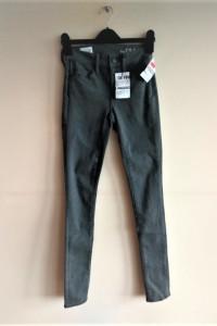 rurki legging jeans 36 s gap szare jeansy...