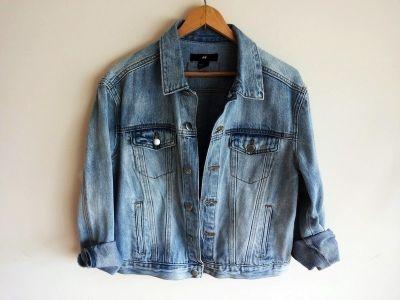 Odzież wierzchnia katana jeansowa xs oversize H&M