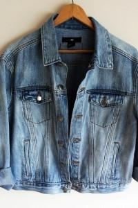 katana jeansowa xs oversize H&M