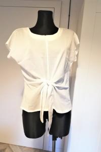 Biała bluzka wiązana z przodu Liva Girl nowa