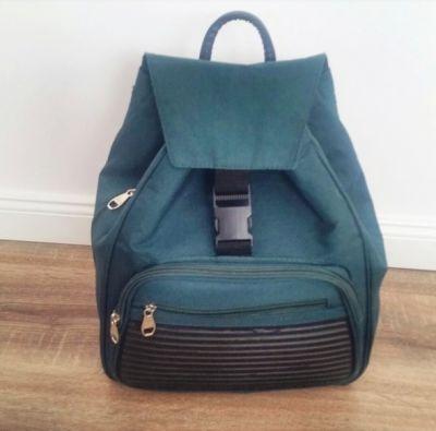 Plecaki Stylowy plecak khaki must have blogerski mieści a4