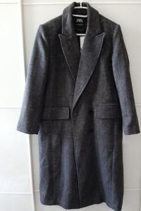 Nowy płaszcz midi ZARA 40 42 44...