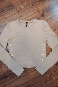 Nowa bluzka SinSay M beżowa