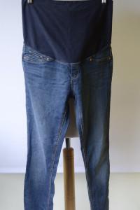 Spodnie Tregginsy Dzinsowe H&M Mama Rurki M 38 Super Skinny...