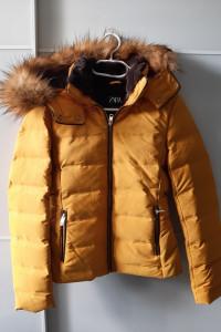 Nowa kurtka puchowa Zara 34...
