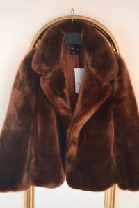Nowe futerko Zara 40