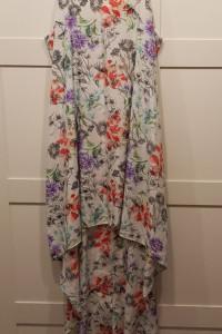 Sukienka z trenem Papaya L