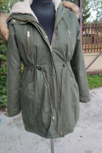 Płaszcz D Stone 2w1 kurtka odpinany korzuch zimowy wiosenny jesienny parka L XL