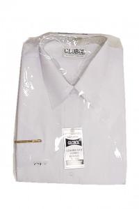 Globol koszula męska biała z krótkim rękawem rozm 44 do 45