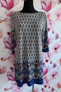 Atmosphere sukienka mini modny wzór ornament 42
