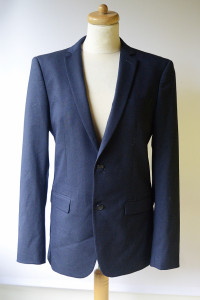 Marynarka Granatowa Zara Man Slim Fit 48 Garnitur...