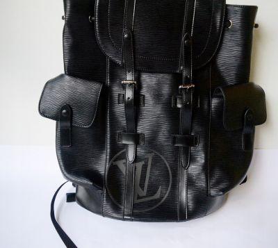 Plecaki Plecak Czarny Unisex Louis Vuitton LV Supreme XXL