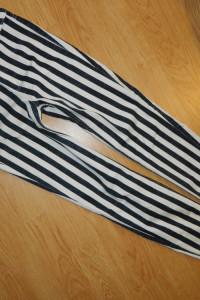 H&M spodnie rurki w paski roz 36...