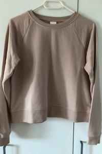 Bluza H&M S z długim rękawem pastelowa...