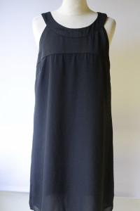 Sukienka Czarna Mała XL 42 H&M Kokardka Elegancka