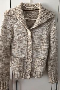 Sweter kardigan Orsay S zapinany dziergany...