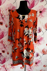 Wallis sukienka mini modny wzór kwiaty floral hit 40 42