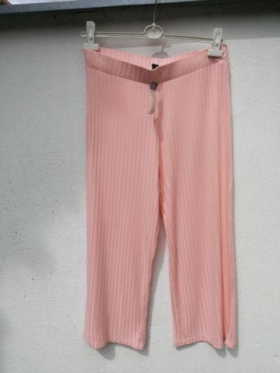 Spodnie spodnie pudrowy róż