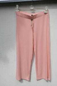 spodnie pudrowy róż...