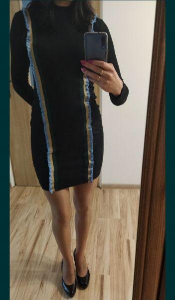 Suknie i sukienki Sukienka sweterkowa 36