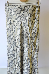 Spódniczka Skóra Węża H&M M 38 Long Elegancka...