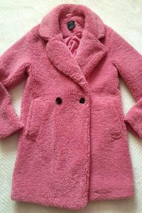 Nowy płaszcz z futerkiem Bershka futro rozmiar XS
