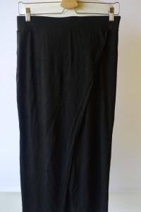 Spódniczka Czarna H&M Kopertowa Midi Ołówkowa S 36...