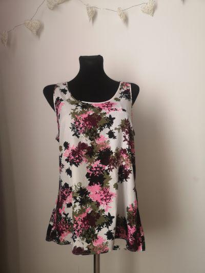 Bluzki Zwiewna bluzka w kwiaty Cubus rozmiar 38
